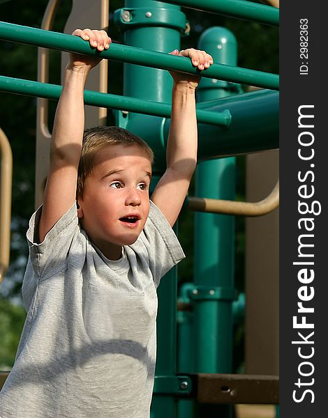Boy at the Playground