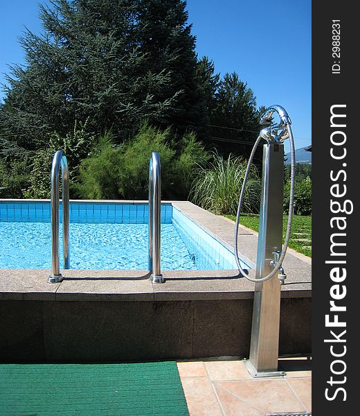 Pool and shower