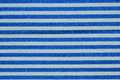 Free Close Up On Blue And White Line Fabric Royalty Free Stock Photography - 29805307