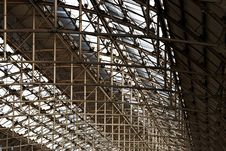 Free Roof Structure At Manchester Piccadilly Rail Station Stock Photography - 29800402