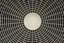 Old Fan Cover Of Air Conditioner Royalty Free Stock Photos