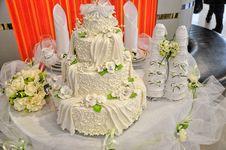 Free Wedding Cake Stock Image - 29805951