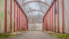 Free Run Down Bridge Royalty Free Stock Images - 29807899