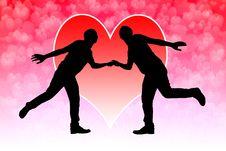 Free Romantic Couple Stock Image - 29808841