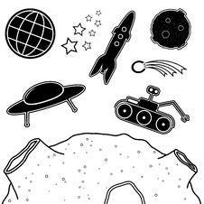 Free Space Set Stock Photo - 29809940