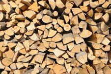Free Pile Of Wood Royalty Free Stock Photos - 29811258