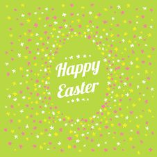 Free Happy Easter Happy Spring Card Stock Photo - 29812780