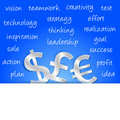 Free Money Sign Strategy Royalty Free Stock Photography - 29824767