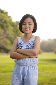Free Asian Little Girl Smiling Stock Photos - 29822843