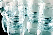 Free Few Empty Glasses Royalty Free Stock Photo - 29825415