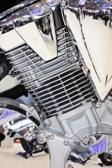 Free Motorcycle Engine Stock Photography - 29825502