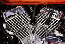 Free Motorcycle Engine Royalty Free Stock Image - 29825506