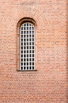 Free Window And Red Bricks Wall Royalty Free Stock Images - 29826009
