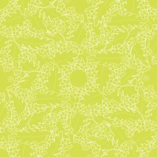 Free Pattern With Palm And Flowers Royalty Free Stock Images - 29827989