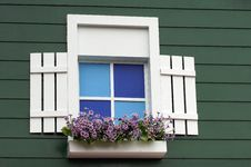 Free Window And Flowers Royalty Free Stock Images - 29828869