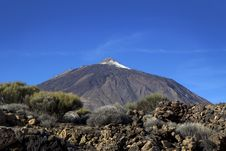 Teide. Canary Islands. Tenerife. Royalty Free Stock Photography