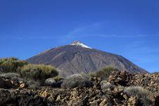 Teide. Canary Islands. Tenerife. Royalty Free Stock Photography