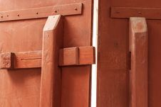 Free Wooden Latch Royalty Free Stock Images - 29829559