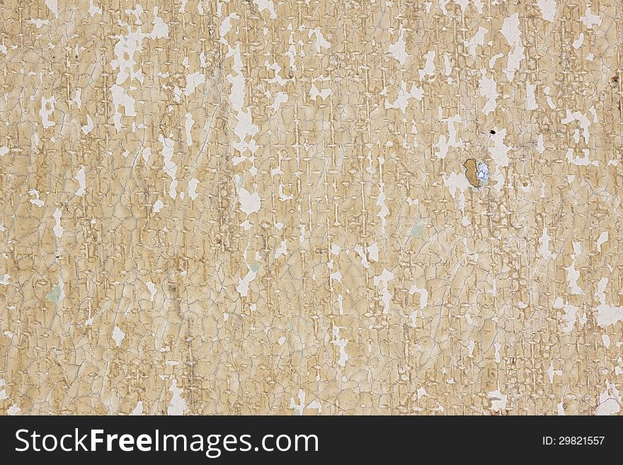 Background: Chipped Paint on Concrete Wall