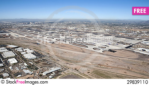Free Sky Harbor Airport Stock Photo - 29839110