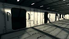 Free Futuristic Interior Stock Photo - 29830340