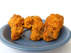 Spicy Fried Chicken Royalty Free Stock Image