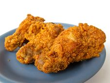 Spicy Fried Chicken Stock Image