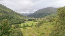 Glenfinnan Viaduct Royalty Free Stock Photo