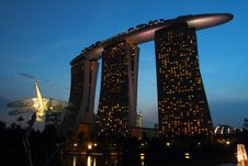 Free Marina Bay Sands Stock Images - 29837274