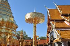 Free Chiang Mai Thailand Suthiep Temple Royalty Free Stock Photo - 29838275