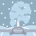 Free Winter Birch In Hoarfrost. Seamless Pattern. Stock Photo - 29844610