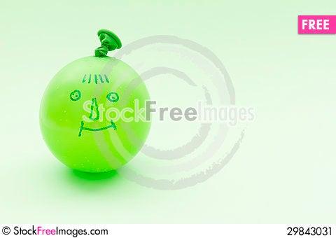 Free Balloon With Smile Stock Image - 29843031