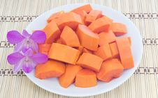 Free Ripe Papaya Stock Photo - 29840300