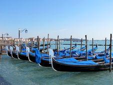 Free Gondolas In Venice, Italy Stock Photos - 29840823