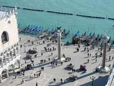 Free St Mark S Square In Venice, Italy Royalty Free Stock Photography - 29840947
