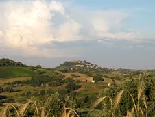Free Tuscany Landscape, Italy Stock Photography - 29841292