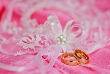 Free Weeding Rings Royalty Free Stock Image - 29841336