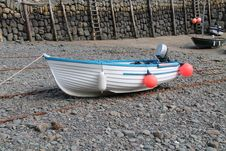 Free Motor Boat. Royalty Free Stock Photography - 29845727