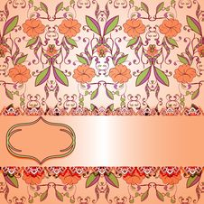 Free Vintage Floral Stock Photography - 29845752