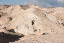 Free Hiking In Judean Desert Royalty Free Stock Photo - 29846015