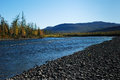 Free Blue River Under The Blue Sky. Royalty Free Stock Photo - 29851335