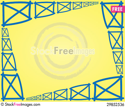 Free Fence Parts Frame Royalty Free Stock Image - 29852536