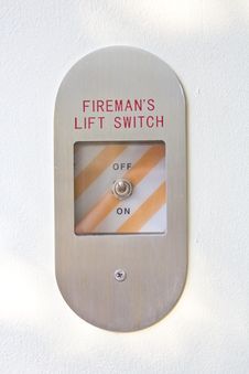 Free Fireman S Lift Switch Stock Photo - 29851210