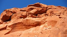 Free Red Rock Mountain Up Close Arizona Stock Photo - 29853210