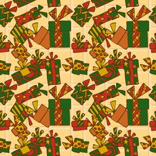 Seamless Wrapping Paper Royalty Free Stock Images
