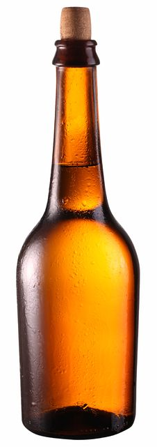Free Bottle Of Beer. Royalty Free Stock Photography - 29855867