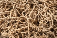 Free Coarse Coconut Rope Royalty Free Stock Photo - 29863305