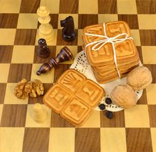 Free Chess Cookies Royalty Free Stock Image - 29865026