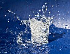 Free Splashing Water From Glass Stock Photo - 29869780