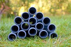Sewers Pipe Royalty Free Stock Photos